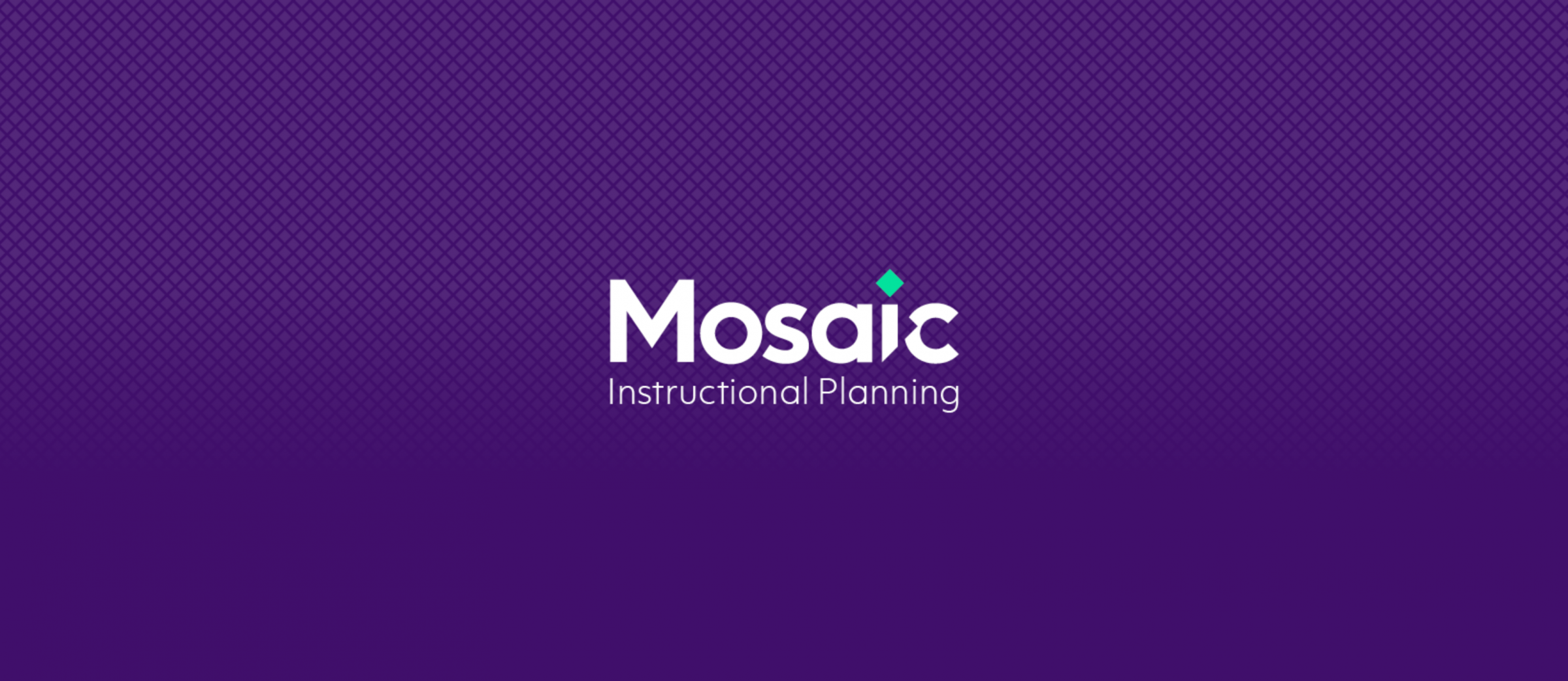 Mosaic Instructional Planning - Branding Agency Example - Mosaic Logo with Grid