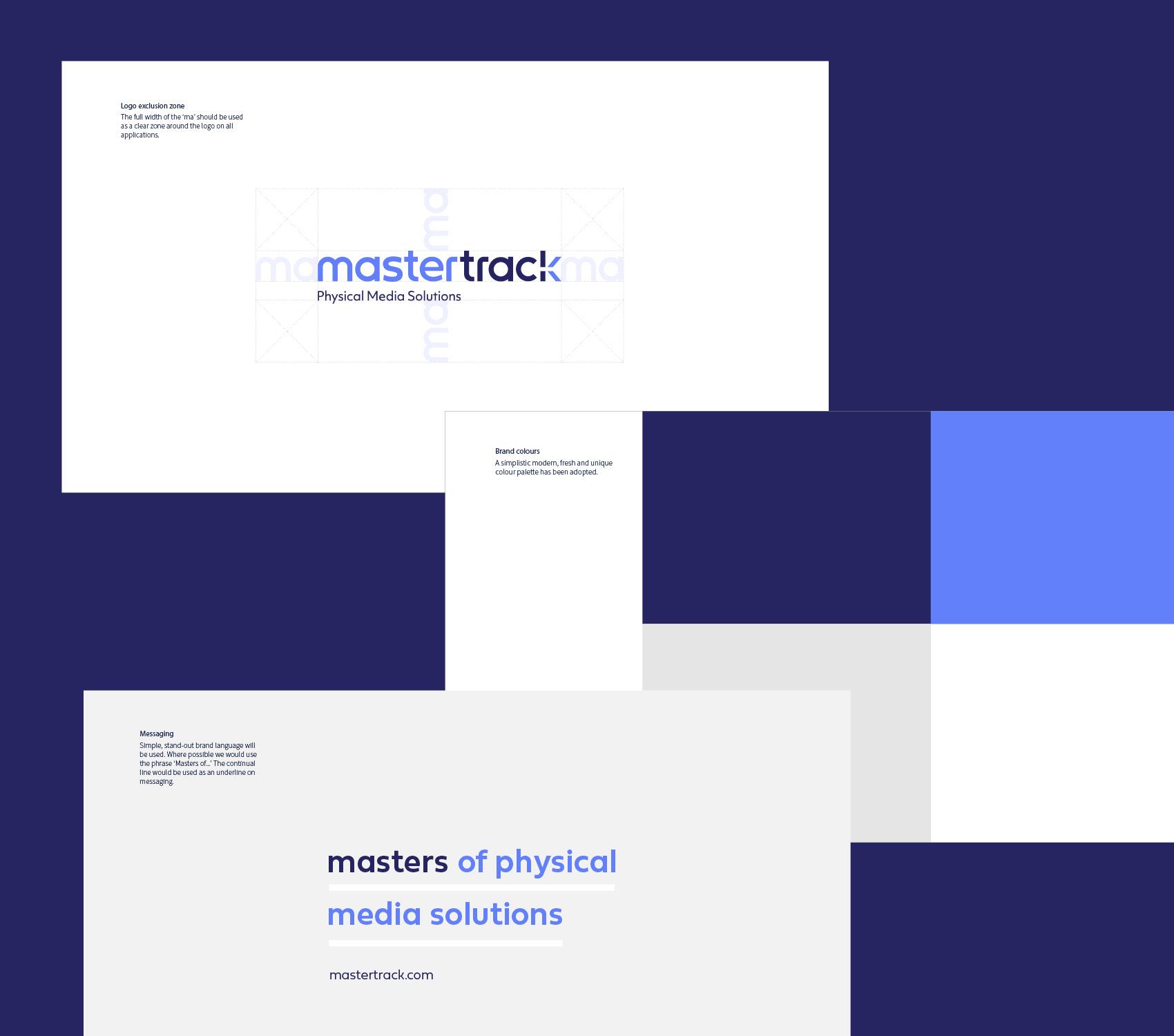 Mastertrack Brand Manual