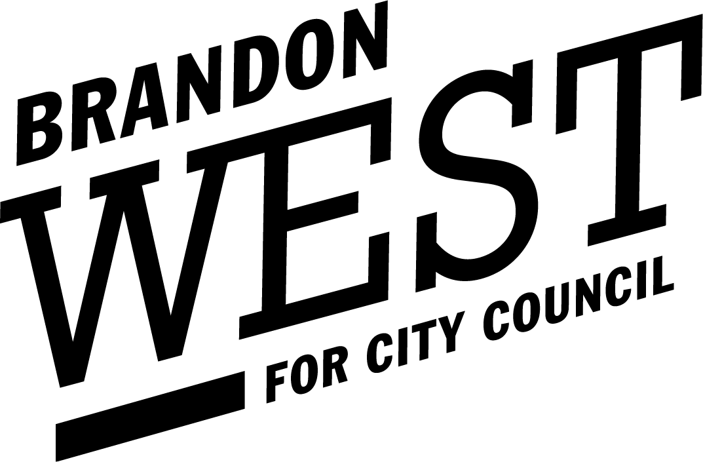 Brandon West Logo Black
