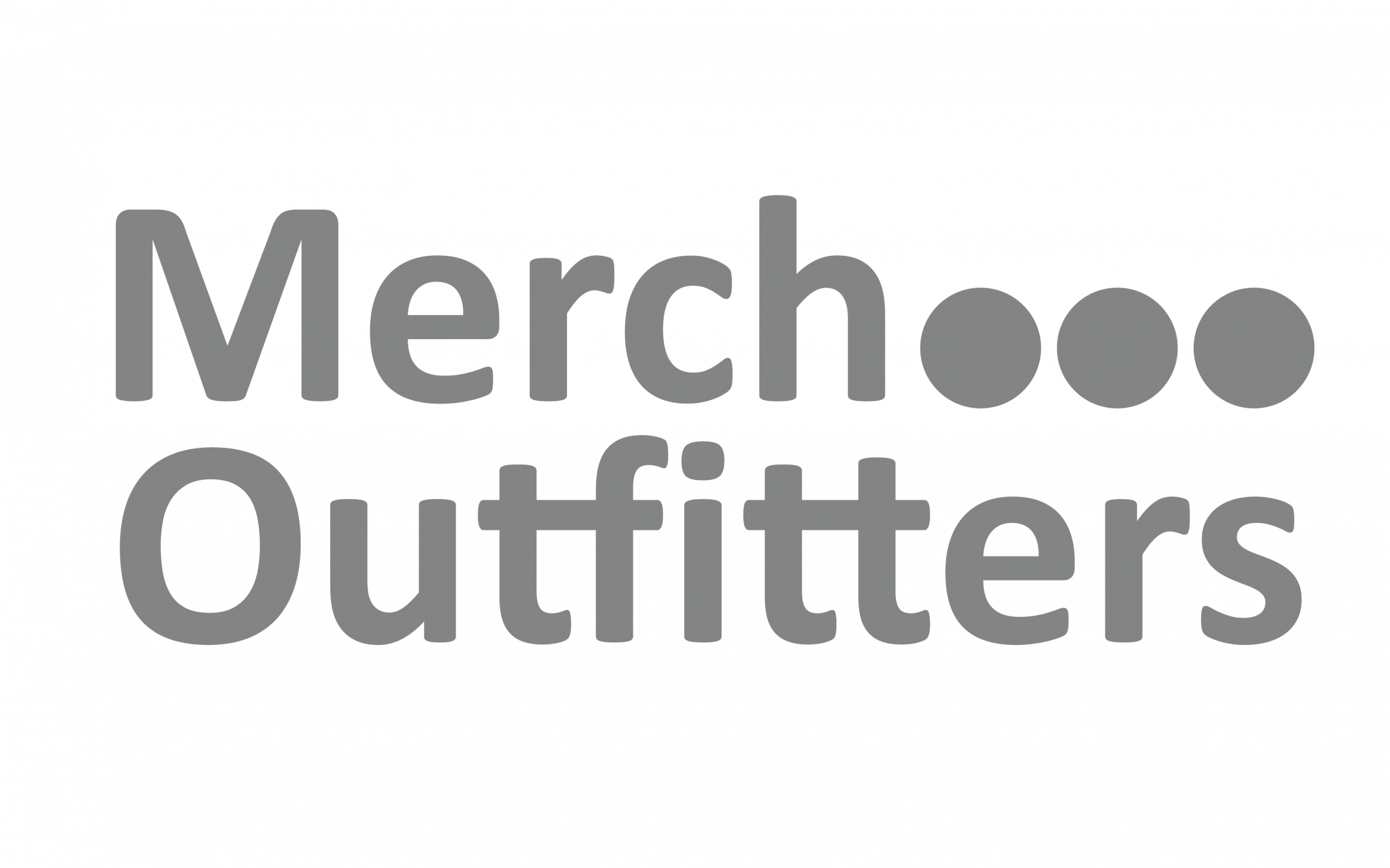 Merch Outfitters logo grey